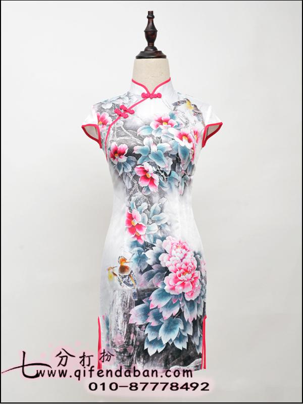 短款旗袍3650