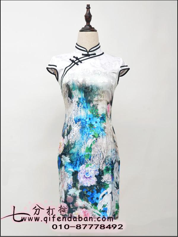 短款旗袍3651