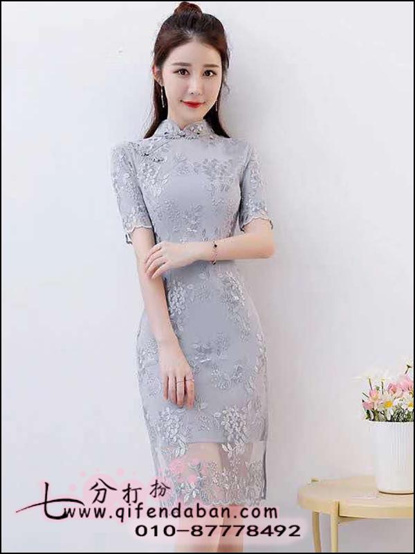 中长旗袍2