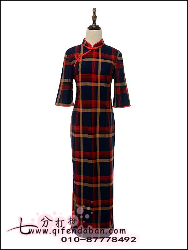 长款旗袍 3241