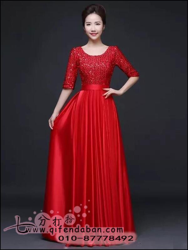 新合唱服-红