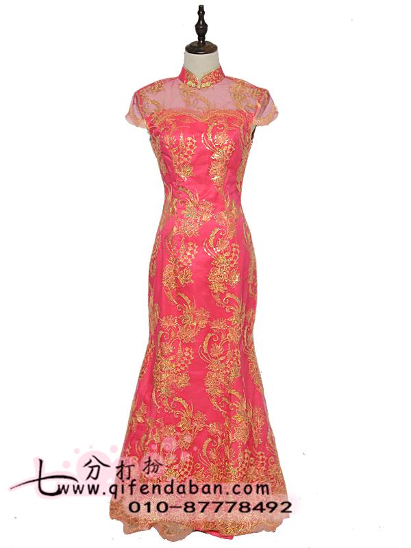 长款旗袍 3209